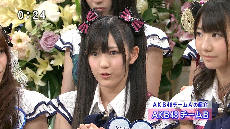 AKB48渡辺麻友いいともキャプチャ画像