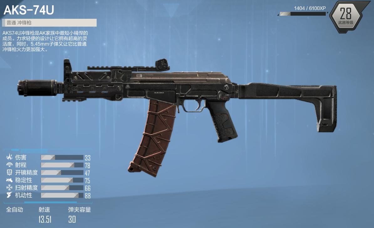 AKS-74U - Call of Duty : Onlin...